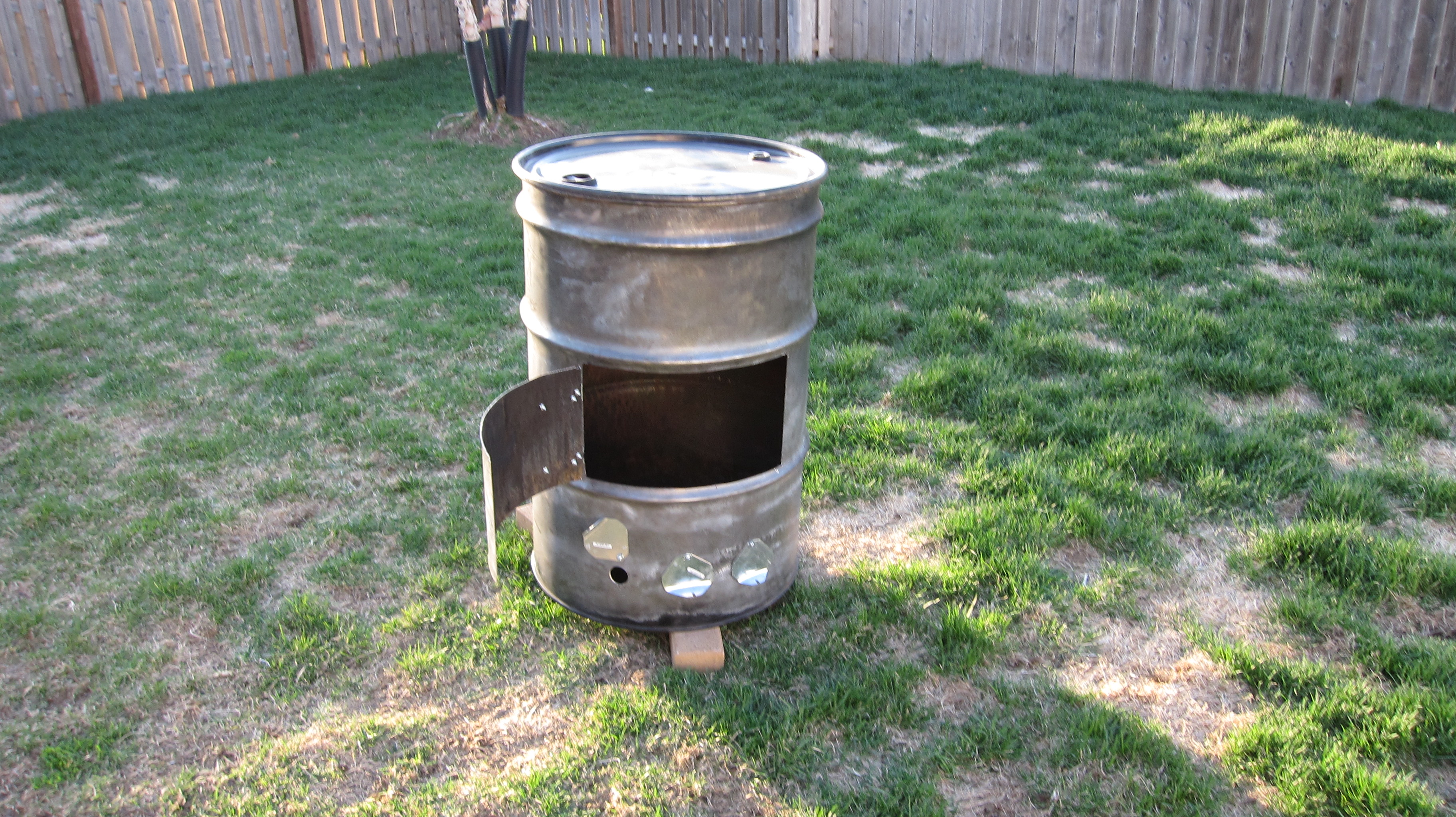 55 Gallon Drum Smoker Project